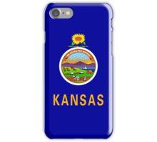 Smartphone Case - State Flag of Kansas - Horizontal iPhone Case/Skin
