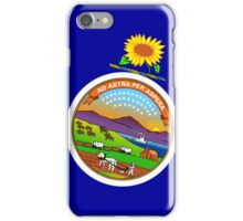 Smartphone Case - State Flag of Kansas - Abstract iPhone Case/Skin