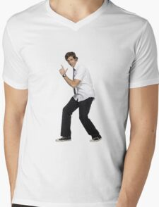 Chuck Bartowski Mens V-Neck T-Shirt