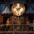 Great Wolf Lodge Great Clock Tower Dells by Bernie Hunt