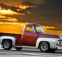 1956 Ford F100 Custom Pick-Up Truck by DaveKoontz