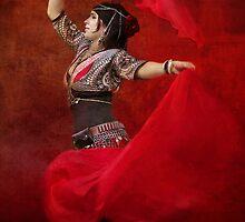 Dance in red by Jan Pudney