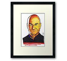 Picard Framed Print