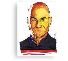 Picard Canvas Print