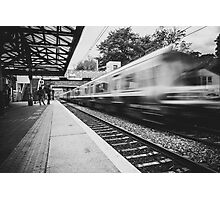 Malahide train station Photographic Print