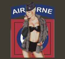 82nd Airborne Pinup by MilitaryPinups