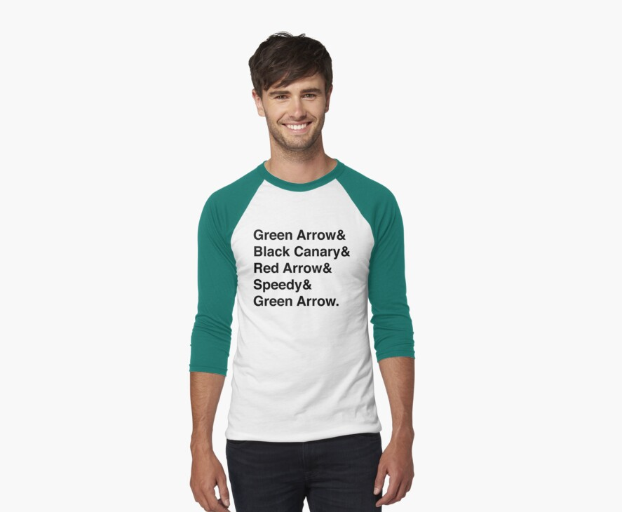 Team Arrow Super Names by ShadoCanary