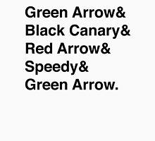 Team Arrow Super Names Men's Baseball ¾ T-Shirt