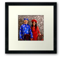 East Meets West Framed Print
