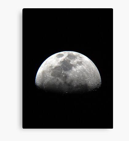 Moon 04/19/2013 Canvas Print