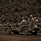 WWII Jeep by Steve Baird