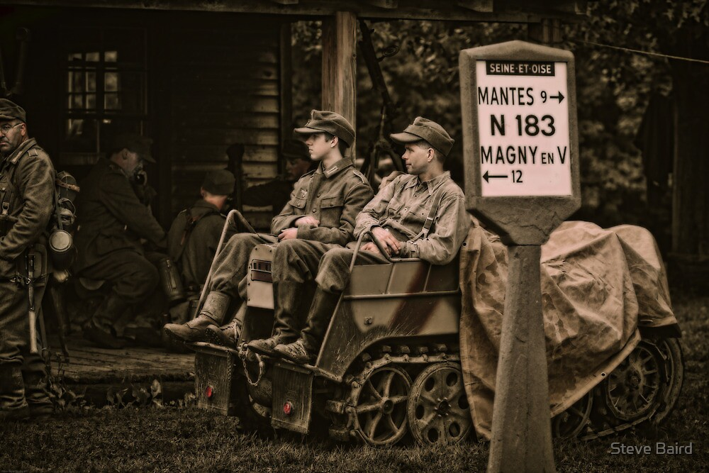 Waiting for Orders by Steve Baird