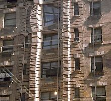 New York Fire Escapes by Shulie1