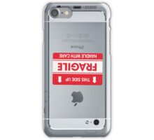 This side up (iPhone 5 white) iPhone Case/Skin