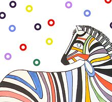 "Zebra-""I'll Stick to You"" stripes by fluffylarueable"