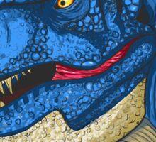Feeling Blue T-Rex Sticker