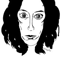 Patti Smith by teaandink