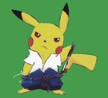 Uchiha Pikachu Kids Clothes