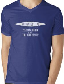 Whovangelical Mens V-Neck T-Shirt