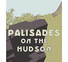 Palisades on the Hudson by SirInkman