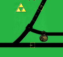 iPhone case - Zelda Suit - Apple iPhone case by beecase