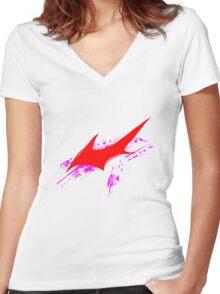 DANGAN RONPA Women's Fitted V-Neck T-Shirt
