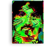 Brett66. Sound and Fury. Canvas Print