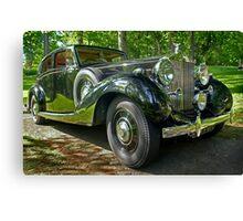 1938 Rolls Royce Canvas Print