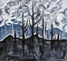 Charred Landscape by Morgan Ralston