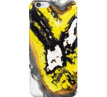 Black and yellow phoenix bird thing iPhone Case/Skin