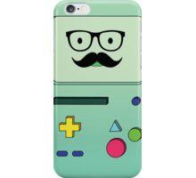 Beemo Mustache - Adventure Time iPhone Case/Skin