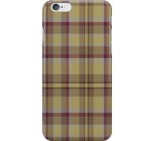 02584 Clark County, Washington E-fficial Fashion Tartan Fabric Print Iphone Case iPhone Case/Skin