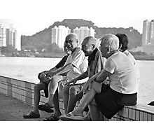 Laughter, Penang. Photographic Print