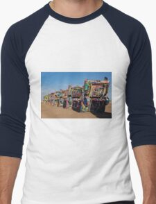 Cadillac Ranch Men's Baseball ¾ T-Shirt