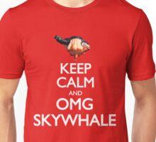 Keep Calm and OMG SKYWHALE Unisex T-Shirt