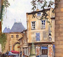 Carcassonne - Red Board by Dai Wynn