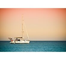 Resting on the sea Photographic Print