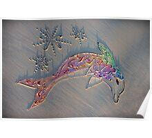 The Harmony Dolphin Poster