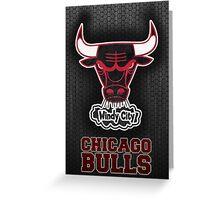 Bulls Greeting Card