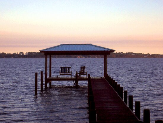 Evening on Perdido Bay by MarjorieB