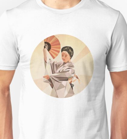 polygonal japanese dancer T-Shirt