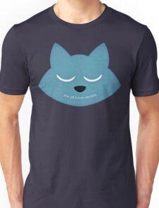 """We All Have Secrets"" Minimalist Style Unisex T-Shirt"