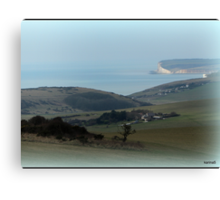 England's Coastline Canvas Print