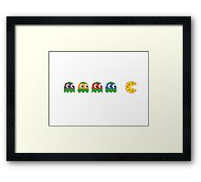 Pac-Man - Tennage Mutant Ninja Turtles Framed Print