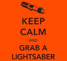 Keep Calm Lightsaber Kids Clothes