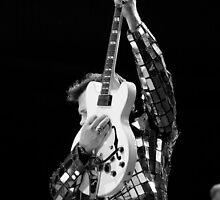 Chris Isaak & Guitar by Natalie Ord