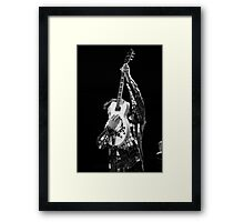 Chris Isaak & Guitar Framed Print