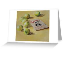Barossa Apples Greeting Card