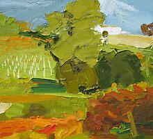 Clare Autumn Study by Lise Temple