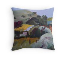 Wormwood and Vines Throw Pillow